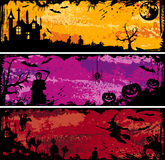Halloween-Feld Lizenzfreies Stockfoto