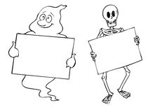 Halloween-Felder Lizenzfreie Stockfotografie