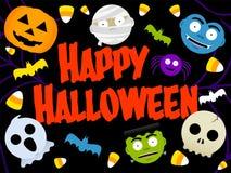Halloween felice illustrazione di stock