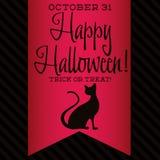 Halloween felice! Fotografia Stock
