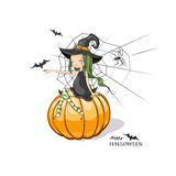 Halloween felice! Immagini Stock Libere da Diritti