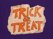 Halloween felice! cartello immagine stock libera da diritti