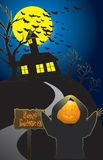Halloween feliz Fotos de Stock Royalty Free