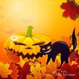 Halloween feliz imagens de stock