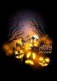 Halloween feliz ilustração stock