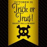 Halloween feliz! Imagens de Stock Royalty Free