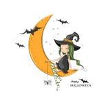 Halloween feliz! Imagem de Stock
