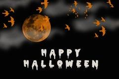 Halloween feliz Imagem de Stock Royalty Free