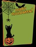 Halloween feliz! Imagens de Stock