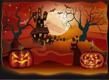 Halloween-festa Immagine Stock Libera da Diritti