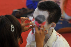 Halloween festival in Indonesia Royalty Free Stock Photo