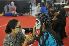 Halloween festival in Indonesia Stock Image