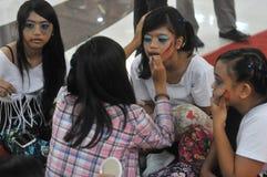 Halloween festival in Indonesia Stock Photos