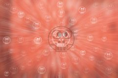 Halloween Festive abstract background with bokeh Royalty Free Stock Images
