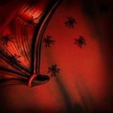 Halloween festive background Stock Image