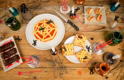 Halloween festive food royalty free stock photo