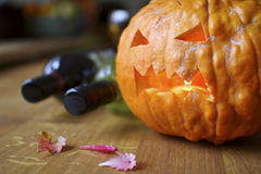 Halloween festivities Stock Photography