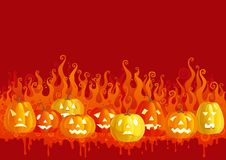 Halloween fire Royalty Free Stock Images