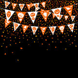 Halloween flag Royalty Free Stock Images
