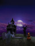 Halloween Flier Background Stock Photo