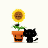 Halloween Flower Stock Photography