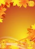 Halloween-Flugblatt/Hintergrund Lizenzfreie Stockfotografie