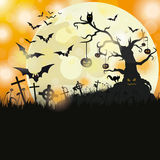 Halloween Flyer Stock Photo