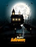 Halloween flyer Royalty Free Stock Image