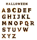 Halloween font Stock Photo