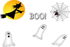 Halloween Font Stock Images