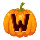 Halloween font alphabet vector Royalty Free Stock Photo