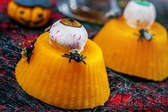 Halloween food Stock Images