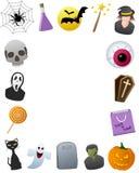 Halloween-Foto-Feld Lizenzfreies Stockbild