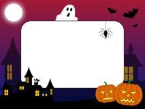 halloween för 2 ram foto Arkivbild