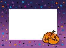 Halloween frame royalty free stock photos