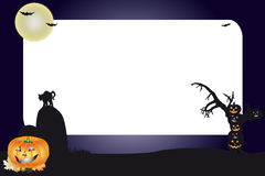 Halloween Frame Stock Photo