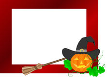 Halloween frame Royalty Free Stock Photography