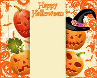 Halloween frame Stock Photos