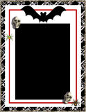 Halloween frame stock photography