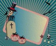 Halloween frame Stock Image