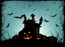 Halloween Frame Background Stock Photos