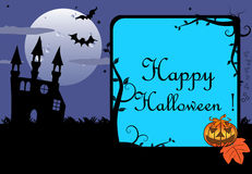Halloween frame stock images