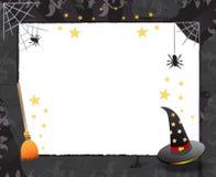 Halloween frame design Stock Photo