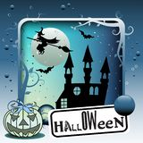 Halloween frame concept Royalty Free Stock Image