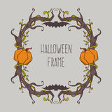 Halloween frame Royalty Free Stock Image
