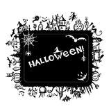 Halloween frame for your design Royalty Free Stock Photography