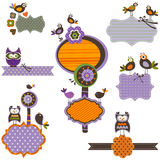 Halloween frames Royalty Free Stock Images