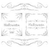 Halloween Frames Stock Photo