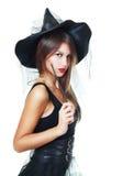 Halloween-Frau lizenzfreie stockfotos
