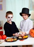 Halloween fright Royalty Free Stock Images